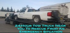 24-Hour Tow Truck Near You To Rescue From An Emergency Situation
