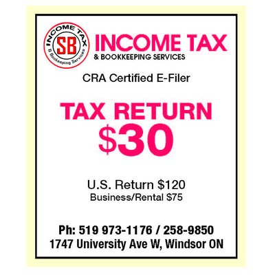 Tax Return Filing - US & Canadian