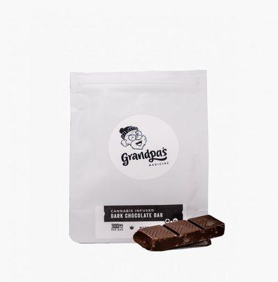 Buy Edibles Online | Grandpa's Medicine Dark Chocolate Bar