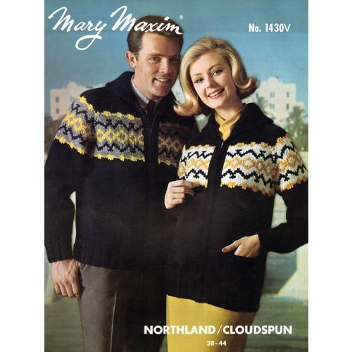 Ladies' and Men's Cardigan Pattern