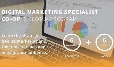 Digital Marketing Specialist Co-Op Diploma