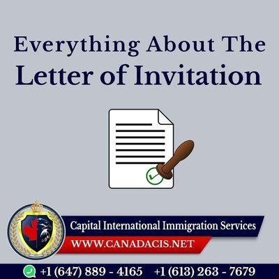 Letter of Invitation
