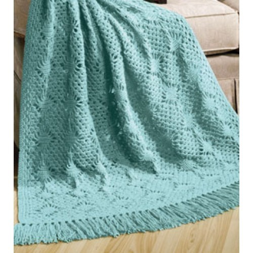 Free Lacy Diamonds Afghan Pattern