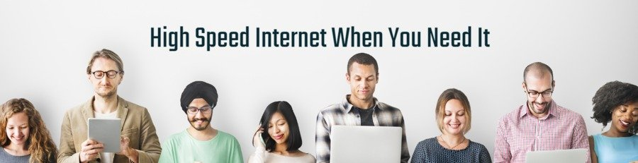 Unlimited High Speed Internet Services