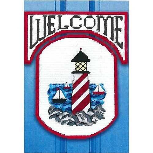 Lighthouse Welcome Plastic Canvas Kit
