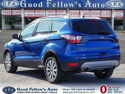 2017 Ford Escape TITANIUM, LEATHER SEATS, NAVIGATION, PANROOF, 4WD