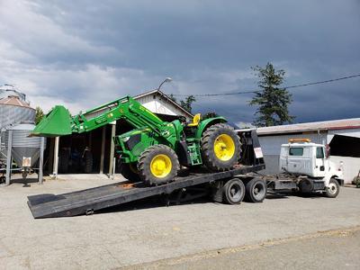 Heavy Equipment Towing