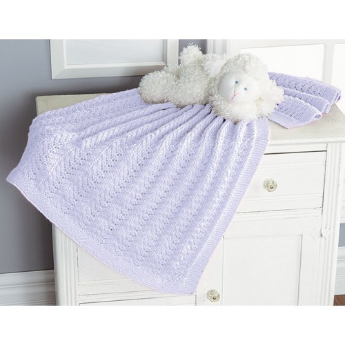 Lace Chevron Blanket (Baby's Best)Options: Lace Chevron Blanket (Baby's Best)
