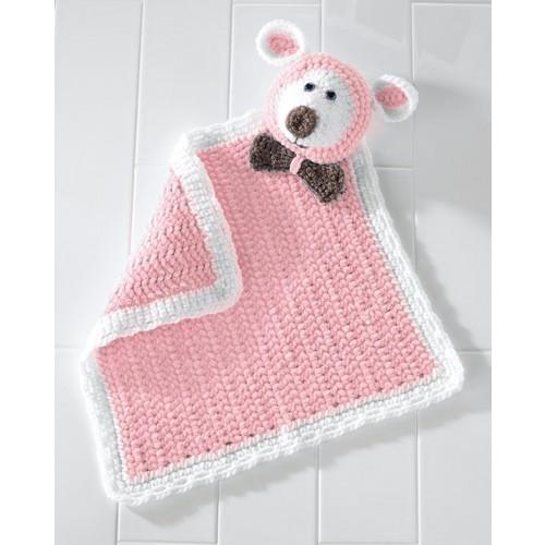 Lamb Blankie Buddy - Pink