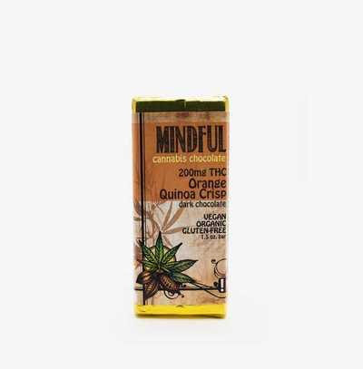 Buy Edibles Online at Hush Cannabis Club   Orange Quinoa Cho