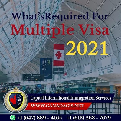 Requirements for Multiple Visa's