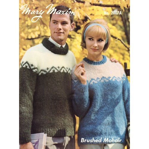 Ladies' and Men's Pullovers Pattern
