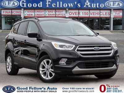 2017 Black Ford Escape