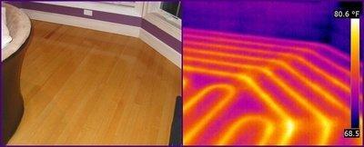 Thermal Imaging for in-floor heating