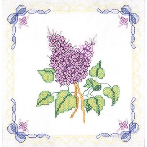 Lilacs Quilt Squares