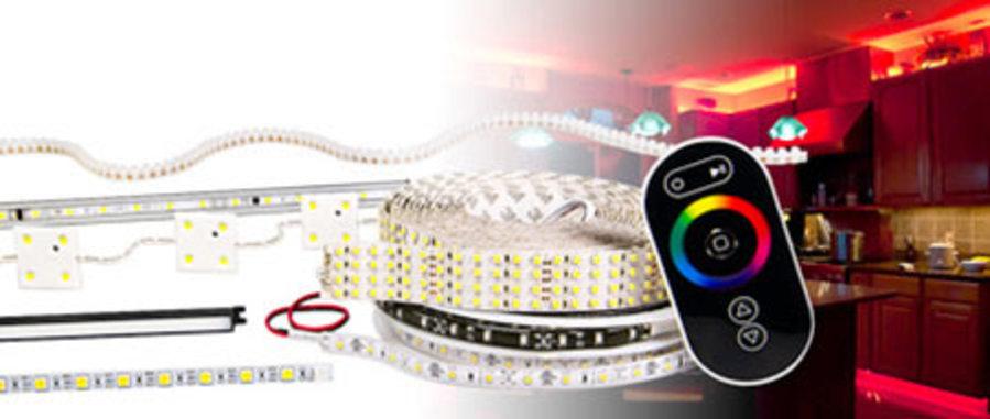 LED Strip Lights & LED Bars