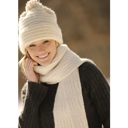 Classic Merino Hat and Scarf Pattern