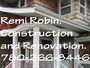 general contracting, renovations and home improvements.